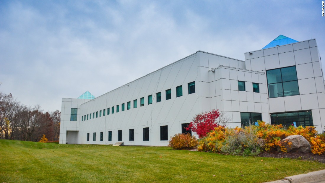 <strong>Paisley Park -- </strong>Prince's home, Paisley Park, is a non-descript white box on the outskirts of Minneapolis. It's been open for tours since November.