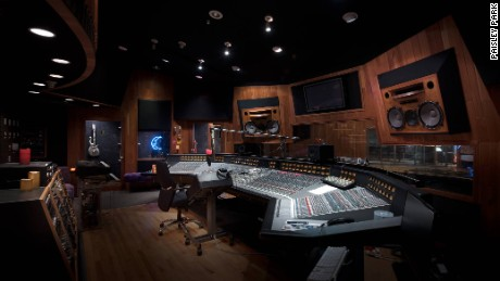 Studio A is preserved as it was at the time of Prince's death.