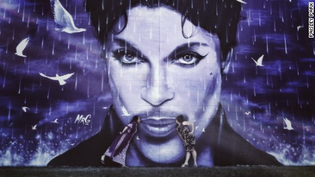 Prince Minneapolis Paisley Park mural