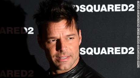 LAS VEGAS, NV - APRIL 06:  Recording artist Ricky Martin attends the grand opening party for Dsquared2 at The Shops at Crystals on April 6, 2017 in Las Vegas, Nevada.  (Photo by Ethan Miller/Getty Images)