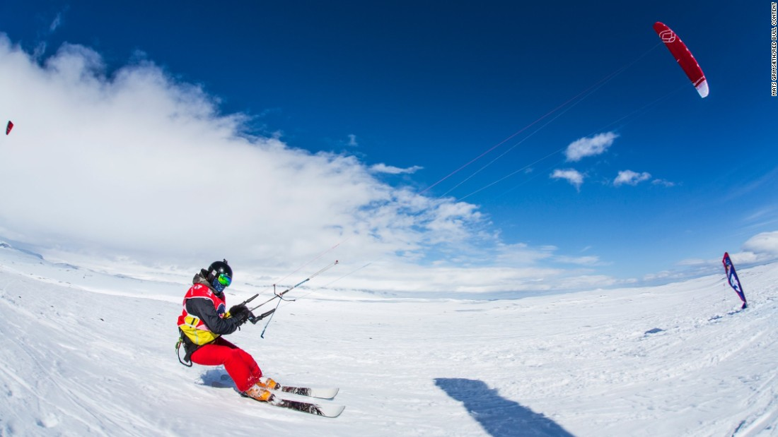 Snow kiting is harder than it looks. The skills required are highly technical, the gear is complicated, you need to be very fit to be competitive, and it can only be done in certain regions of the world.