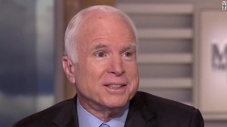McCain: Trump administration needs a strategy