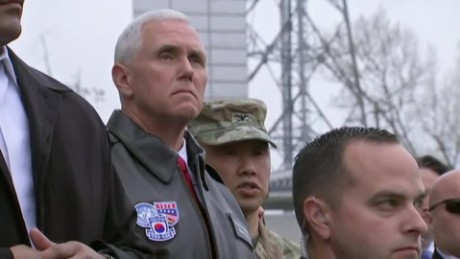 Vice President Pence visits the DMZ