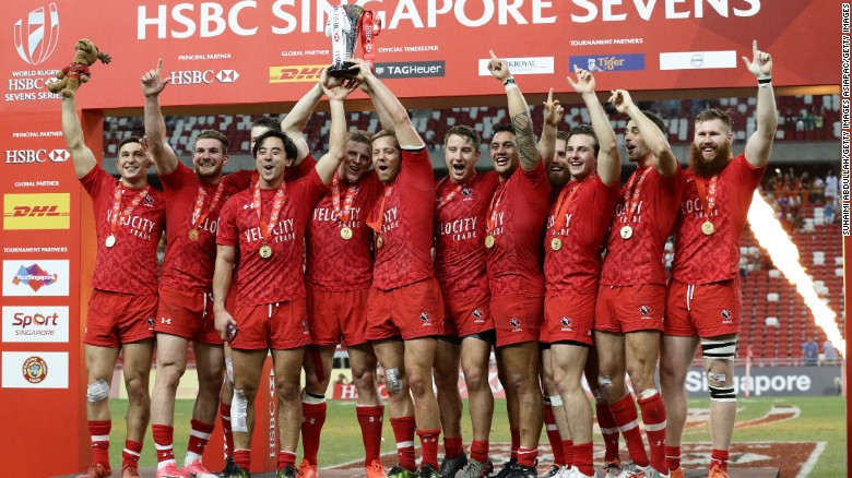 Canada seals historic Singapore Sevens title
