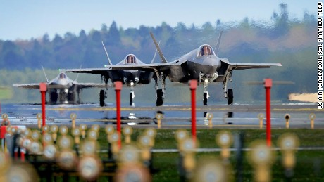 US F-35 fighters to train near Russia
