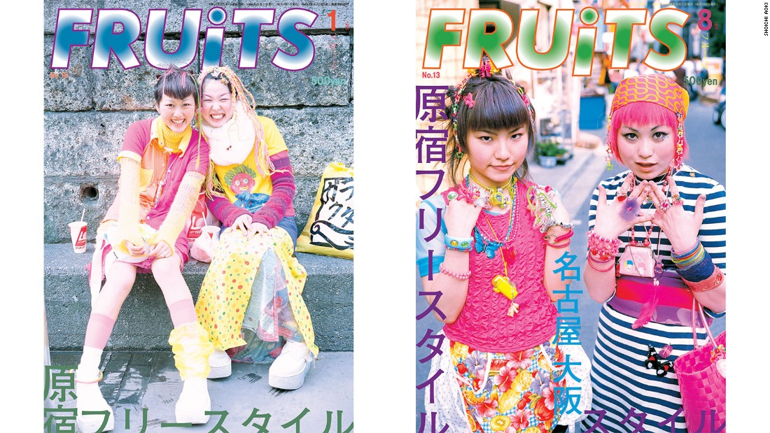For the last two decades, Aoki has been documenting Tokyo's most provocative street fashions on the pages of FRUiTS.