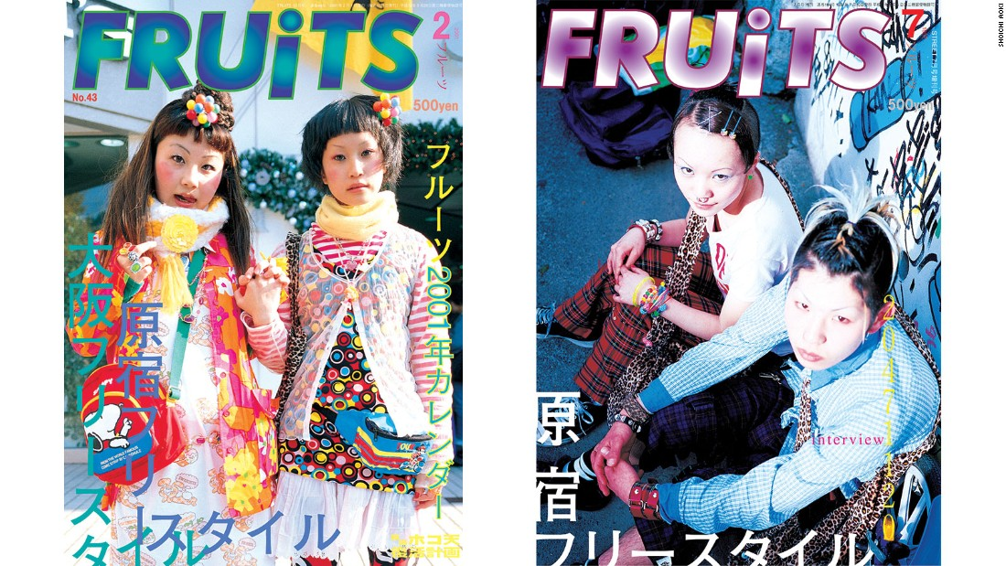 Photographer Shoichi Aoki is best known for his publication FRUiTS magazine.