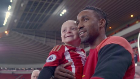 Defoe friendship with ill boy _00004507