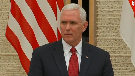Pence: North Korea is most ominous threat