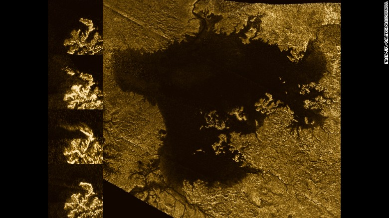 "Titan's ""magic islands"" aren't islands at all. They're bubbles."