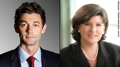 Poll: Ossoff leads Handel 51-44 in most expensive House race ever