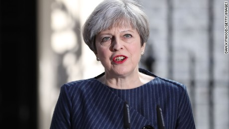 British PM May says June election result 'not certain' despite front-runner status