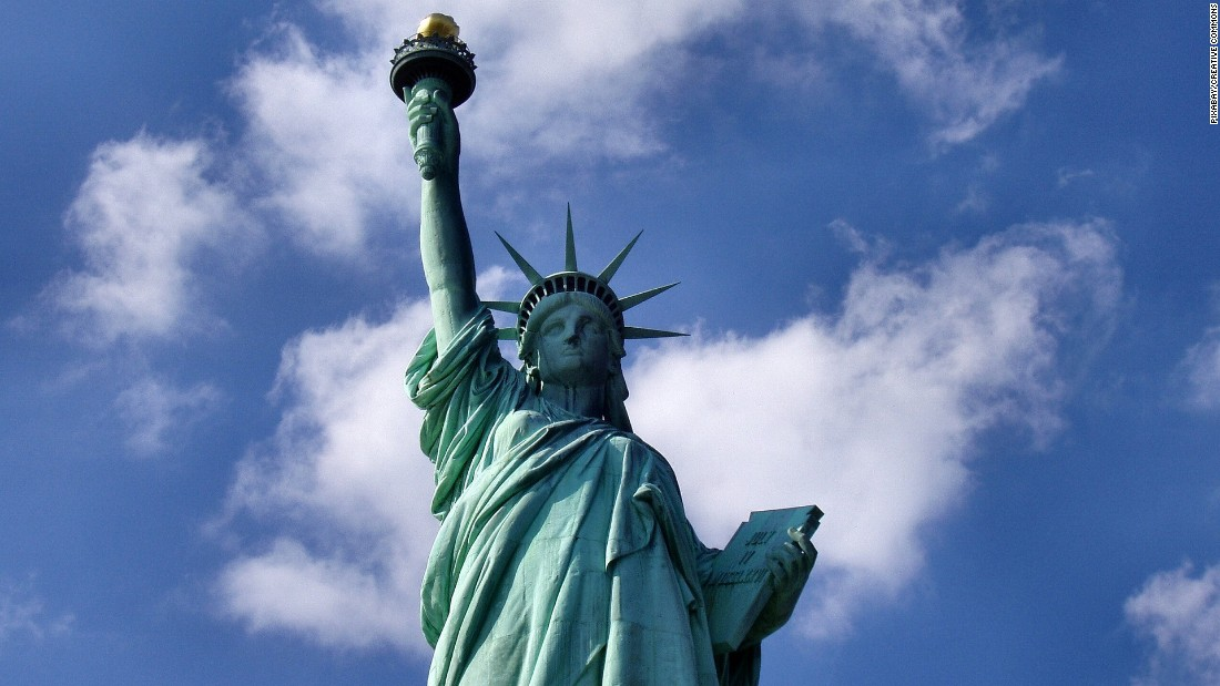 <strong>Statue of Liberty:</strong> NYC has five boroughs and about a dozen islands. Lady Liberty stands on her own island.