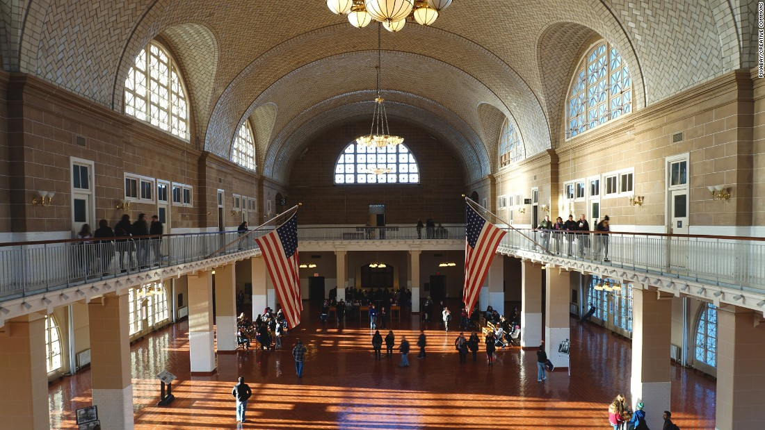 <strong>Ellis Island: </strong>Many Americans can trace their lineage through this island, which has a museum and archives on-site.