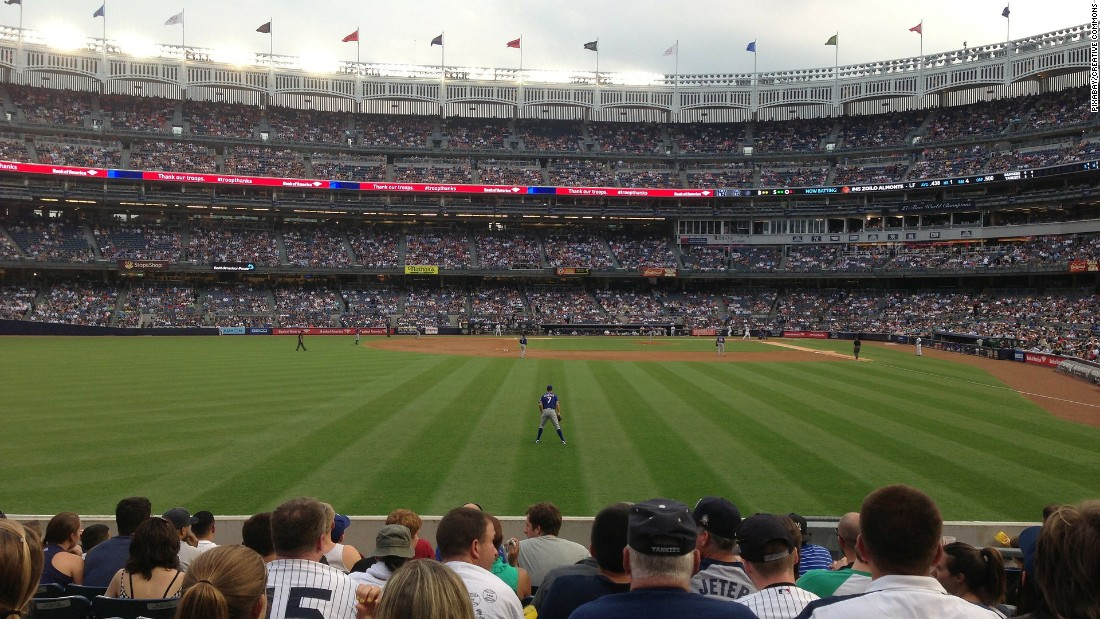 <strong>Yankee Stadium:</strong> See where Joe DiMaggio and Derek Jeter became baseball legends in the Bronx.