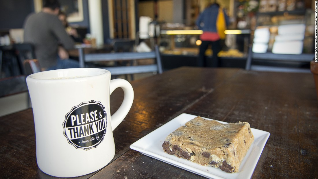 <strong>A caffeinated alternative: </strong>Bourbon isn't the only carefully crafted drink in town. Please & Thank You pairs locally roasted coffee with homemade baked goods.