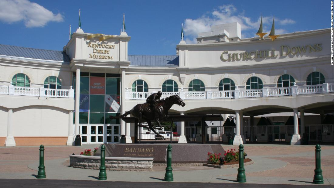 <strong>At the races: </strong>About a 10-minute drive south of downtown, Churchill Downs and the Kentucky Derby Museum showcase thoroughbred horse racing.