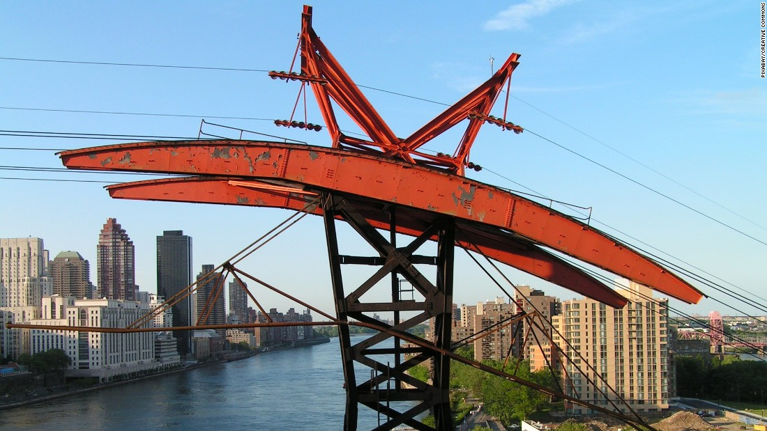 <strong>Roosevelt Island Tram: </strong>New Yorkers can commute by subway, bus, ferry... or over-river tram.