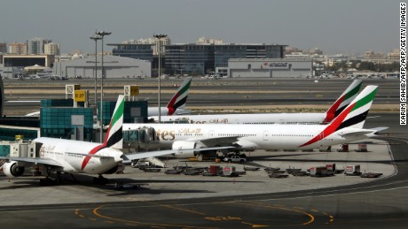 Nigerians have faced difficulties with US customs at Abu Dhabi International airport.