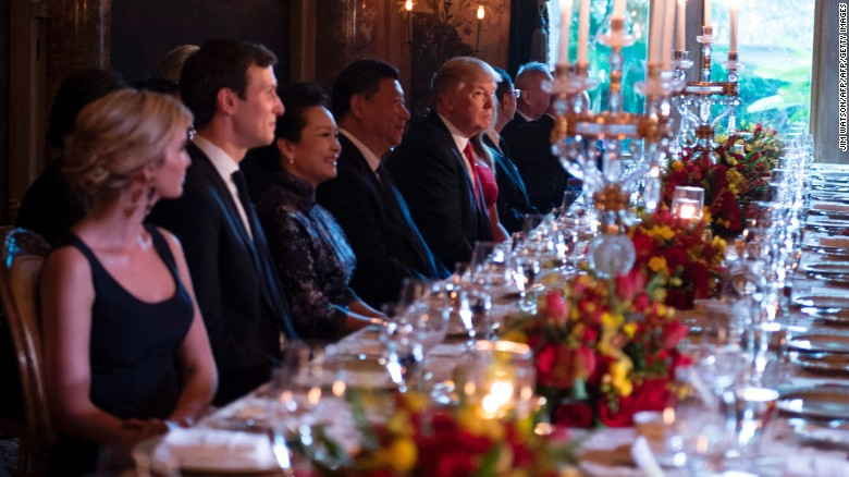 China granted Ivanka trademarks day of Xi dinner