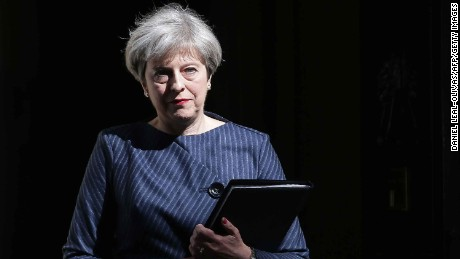 UK PM calls for general election: Full speech