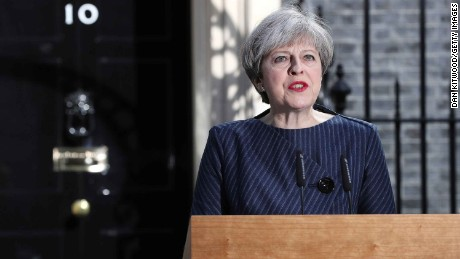 Theresa May's U-turn on calling an election