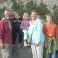 Martin Altenburg family photo mt rushmore