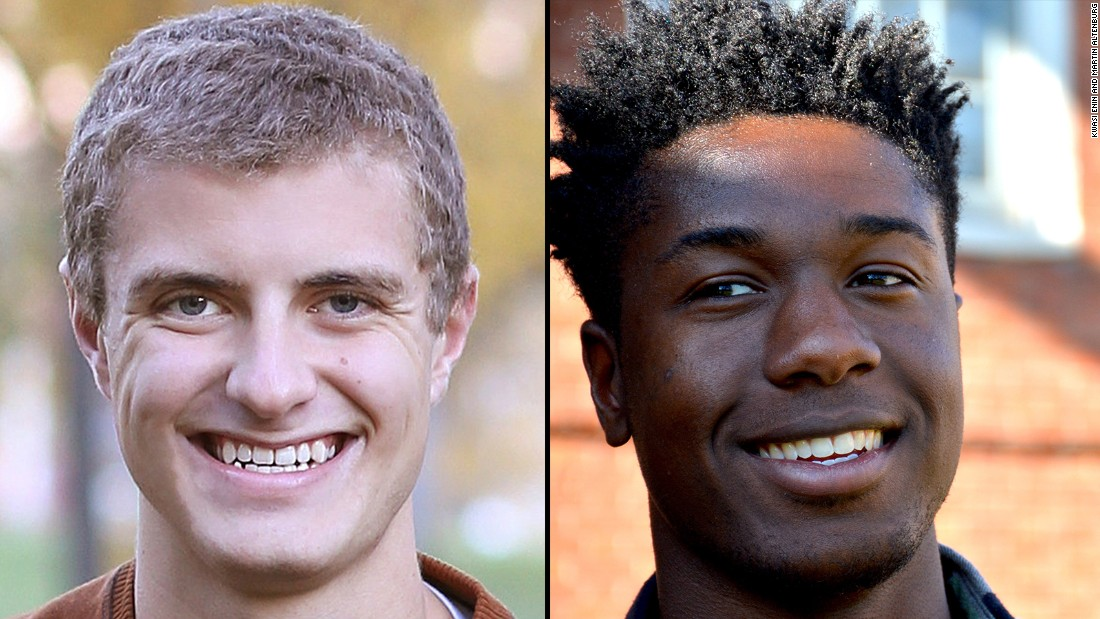 "Martin Altenburg and Kwasi Enin have accomplished a rare academic feat -- being accepted into every Ivy League school. Yet they were raised very differently. One student grew up in North Dakota with ""hands-off"" parents, the other grew up on the East Coast with strict parents. Here's a look at their childhoods."