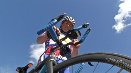 cyclist to attempt world-record ride across cuba curnow_00000502.jpg