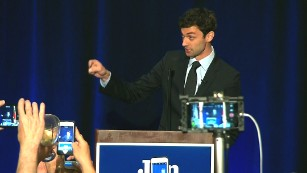 Ossoff: Defied the odds, shattered expectations