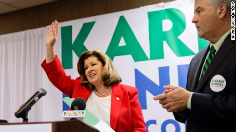 Who is Karen Handel?