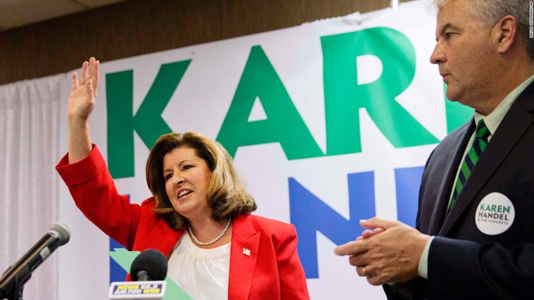 Karen Handel is an experienced political hand