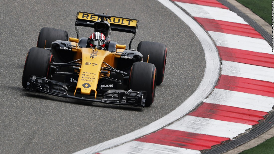Renault won drivers' championships with Fernando Alonso in 2005 and 2006. Today, it is represented by Nico Hulkenberg and Joylon Palmer, the former of whom has picked up two points so far this season after placing ninth in Bahrain.