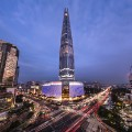 Lotte World Tower exterior
