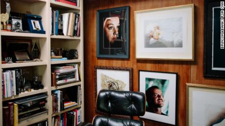 Details from the home of famed photographer Douglas Kirkland.