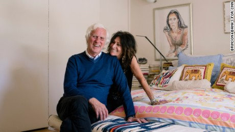 Photographer Douglas Kirkland and his wife and creative partner Francoise Kirkland at their home in the Hollywood Hills.