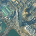 Lotte World Tower aerial view