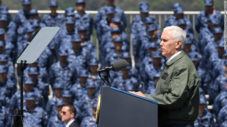 Pence: Under Trump, America chose strength
