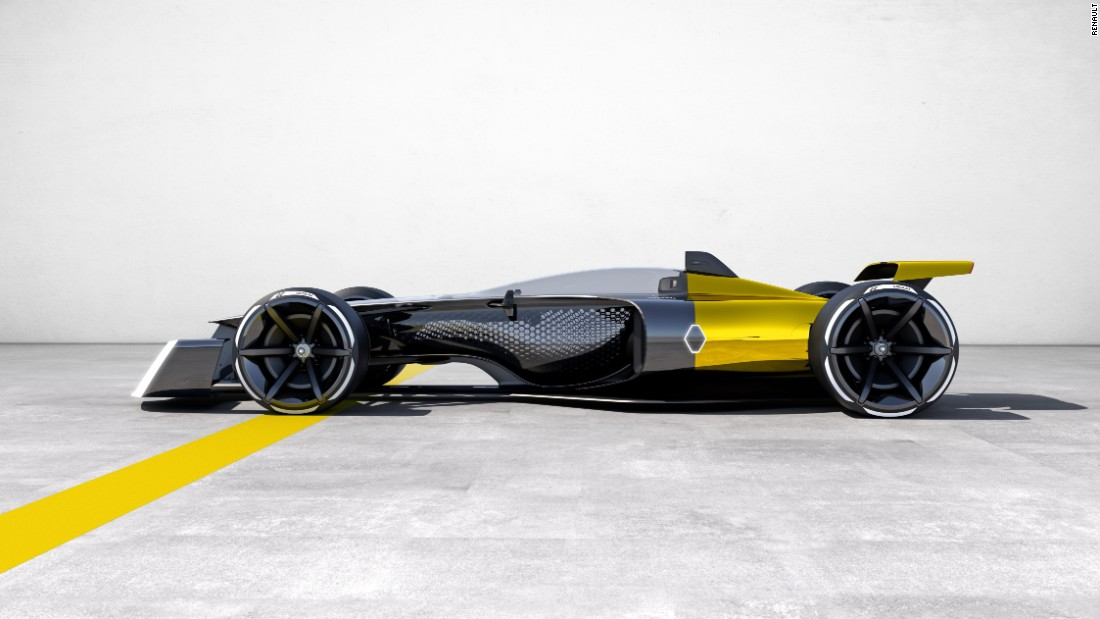 Formula One Renault S Vision For How Cars Will Look In