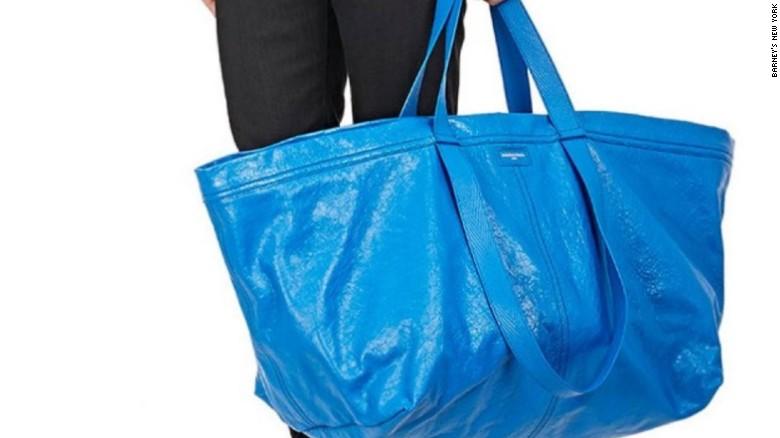 Balenciaga's $2,145 bag is just like Ikea's 99 cent tote - CNN.com