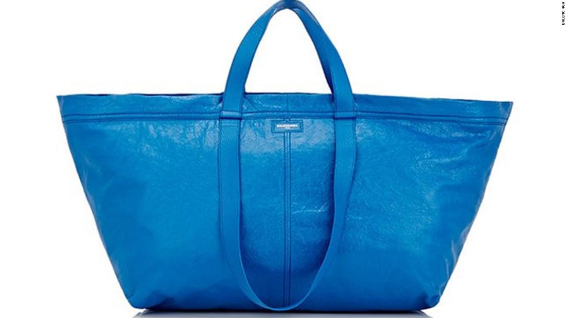 The Balenciaga Ikea-esque bag story isn't new