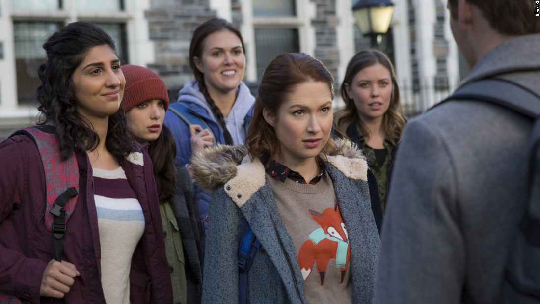 "<strong>""Unbreakable Kimmy Schmidt"" Season 3: </strong>Ellie Kemper stars as a naive former cult member in this comedy co-created by Tina Fey. <strong>(Netflix) </strong>"