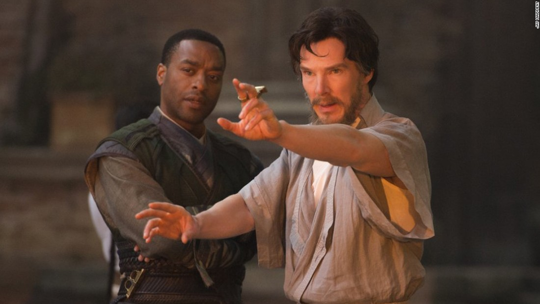 "<strong>""Marvel's Doctor Strange"": </strong>Benedict Cumberbatch and Chiwetel Ejiofor star in this film about a neurosurgeon transformed into a superhero. <strong>(Netflix) </strong>"