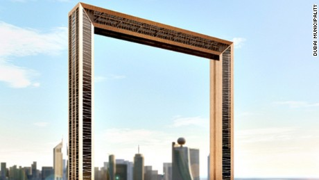 Mexican-born architect Fernando Donis claims the Dubai Frame design was stolen from him after he pitched it at an international competition.