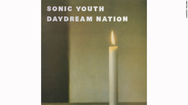 "Sonic Youth licensed <a href=""http://edition.cnn.com/2014/10/16/world/gerhard-richter-most-expensive-painter/index.html"">Gerhard Richter</a>'s ""Kerze"" (1983) for their last album before signing to a major label. The painting itself sold for $16.6 million in 2011."