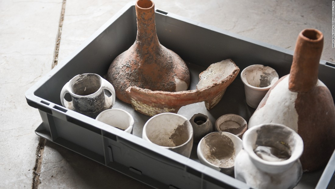 <strong>Basic brew kit:</strong> They studied the primitive processes, which involved the use of vessels such as these for mashing, filtration and fermentation.