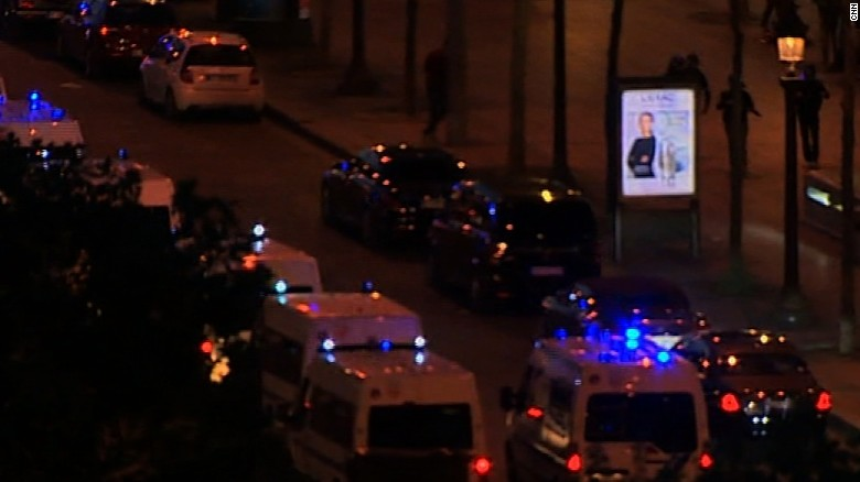 Paris shooting: Police officers shot on Champs-Elysees