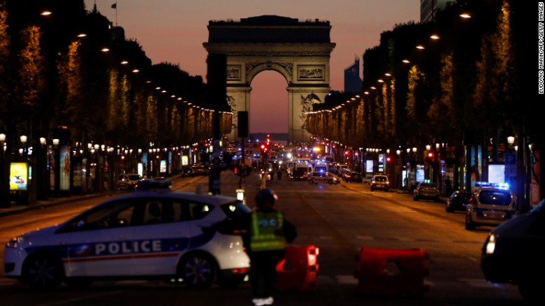 Islamic State claims Champs Elysees police killing
