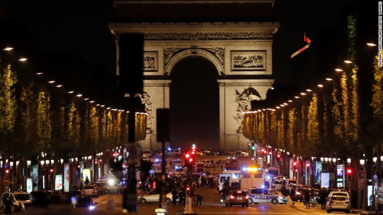 WATCH: Shooting near Champs-Elysées in Paris.