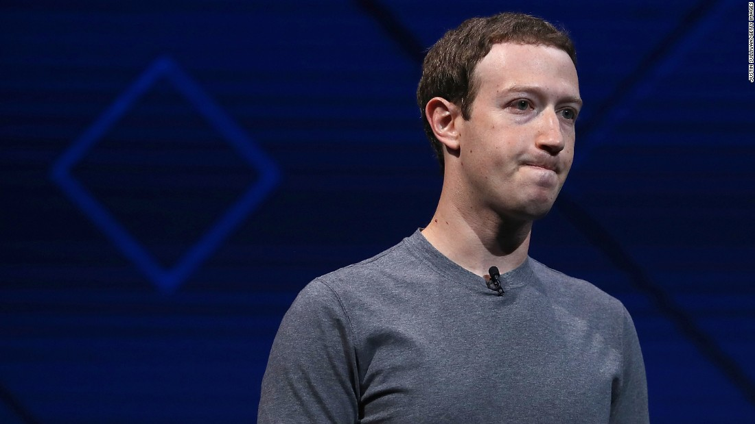 "Mark Zuckerberg delivers the keynote address at Facebook's F8 Developer Conference in San Jose, California, on Tuesday, April 18. The Facebook CEO <a href=""http://money.cnn.com/2017/04/18/technology/zuckerberg-facebook-murder/"" target=""_blank"">briefly addressed</a> the uproar over a <a href=""http://www.cnn.com/2017/04/18/us/cleveland-facebook-killing-video/index.html?iid=EL"" target=""_blank"">murder video</a> posted to Facebook."